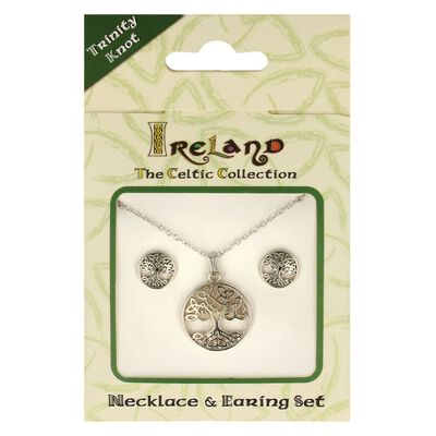 Ireland The Celtic Collection Tree Of Life Matching Jewellery Set