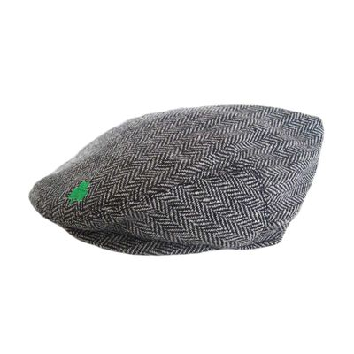 Aran Island Grey Woven In Tweed Cap  Suitable For All Seasons