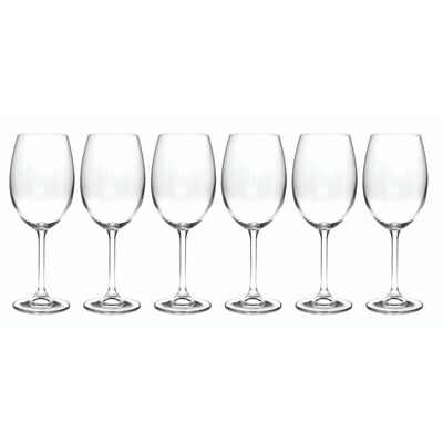 Tipperary Crystal Connoisseur 450Ml Wine Glass Collection – 6 Pack