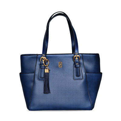Tipperary Crystal Grafton Tote Bag, Navy Colour