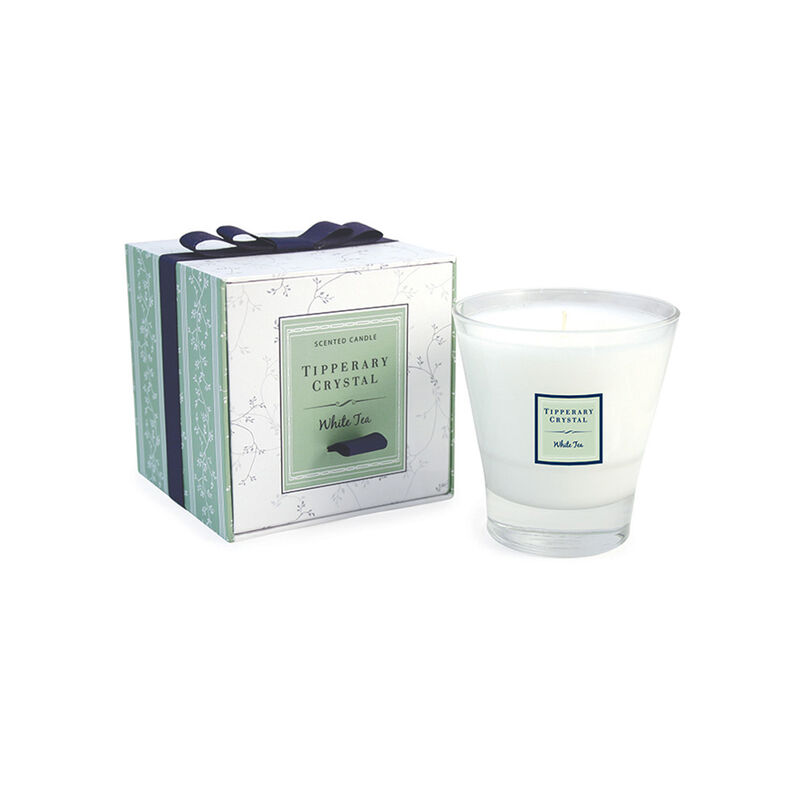 Tipperary Crystal Designed Tumbler White Tea Scented Candle
