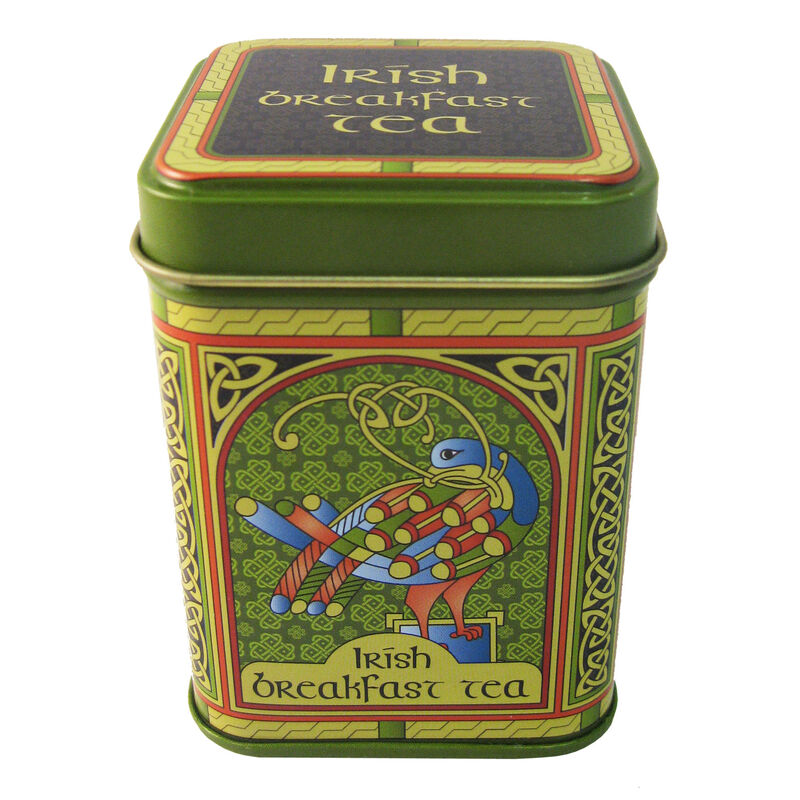 Irish Breakfast Tea – Celtic Peacock Designed 40G Tin