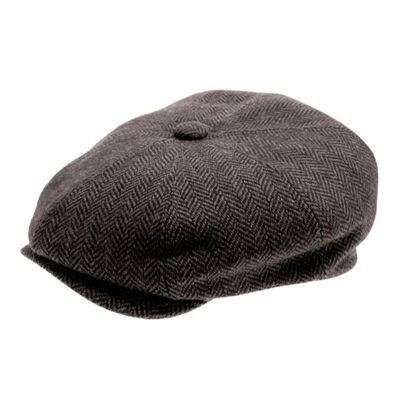 Peaky Irish Collection Premium Quality Newsboy Cap  Grey Colour