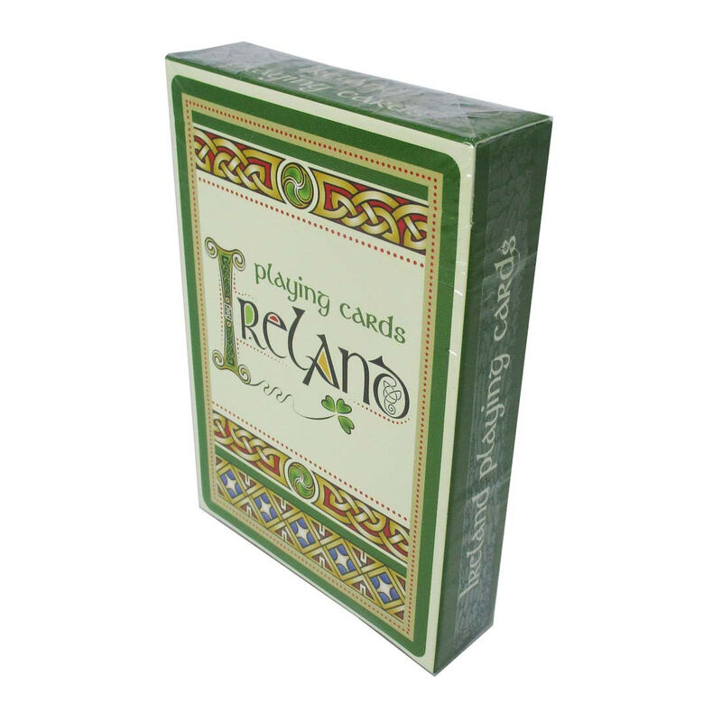 Celtic Ireland Illustrated Playing Cards  9.7Cmx6.7Cm