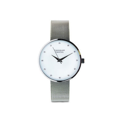 Tipperary Crystal Ultimito Silver Watch